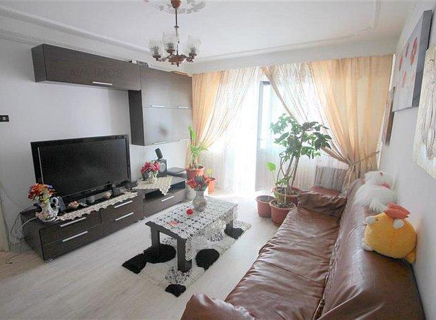 Apartament 3 camere, etaj 3, zona Mioritei - imaginea 1