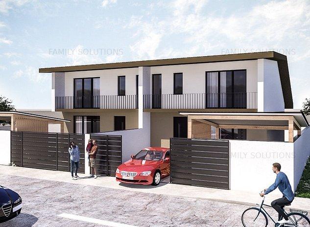 Vila la cheie, 3 camere, teren 150 mp - imaginea 1