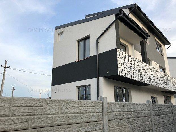 Casa individuala P+2E util 140mp, teren 188mp. 5 min de primarie. - imaginea 1