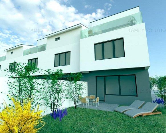Proiect Nou, Vila P+1+M, 4 camere, Metalurgiei - imaginea 1