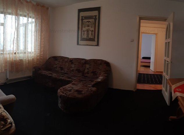 Apartament 3 camere semidecomandate, mobilat, utilat, etaj 1, Cornisa. - imaginea 1