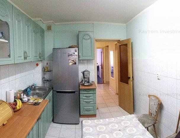 Apartament 3 camere decomandate, la parter, cu balcon lung, URA - imaginea 1