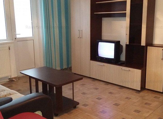 Apartament 2 camere semidecomandate, mobilat, utilat, la parter, Piata Sud - imaginea 1