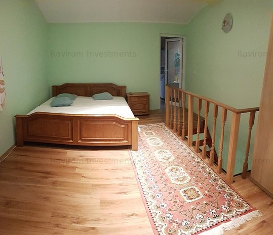 Apartament in vila, P+M, 2 camere, bucatarie, baie, mobilat si utilat - imaginea 1