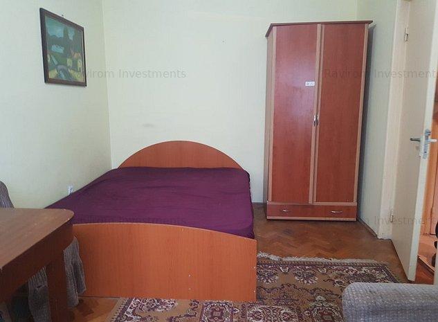 Cornisa, apartament doua semidecomandate, mobilat decent  - imaginea 1