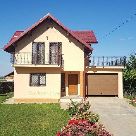 Casa noua, P + M, teren 600, în Margineni - imaginea 1
