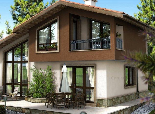 Cartierul Bună Ziua | Casa din Povești | 4 camere | Tărtășești - nord București - imaginea 1