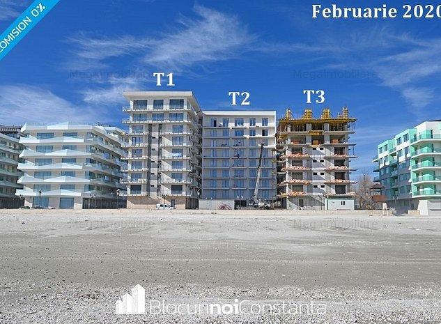#Garsoniere la cheie, prima linie la mare - Beach Residence, Mamaia Nord - imaginea 1