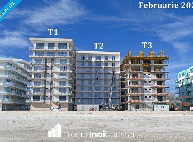 #Apartamente 2 camere, 78m² – vedere frontală la mare, Mamaia Nord - imaginea 1