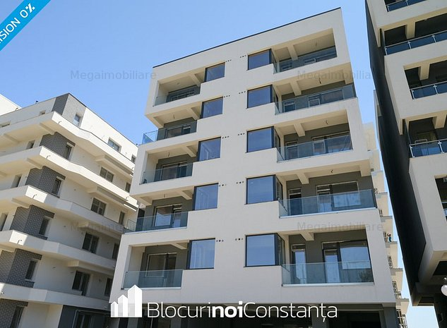 #Dezvoltator: Bloc finalizat, Kazeboo - Mamaia Nord » 62m² + curte 14m² - imaginea 1