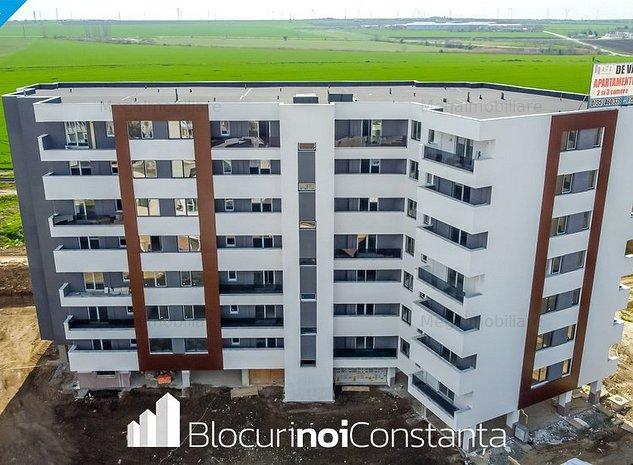 #Bloc finalizat: Garsonieră tip studio, 59m² - Ark Residence, Tomis Plus - imaginea 1