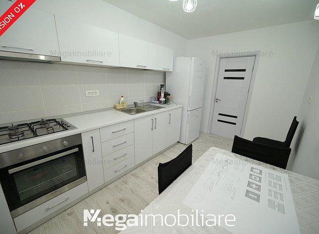#Apartament decomandat cu 3 camere, 70m² - mobilat și utilat / zona Inel 2 - imaginea 1