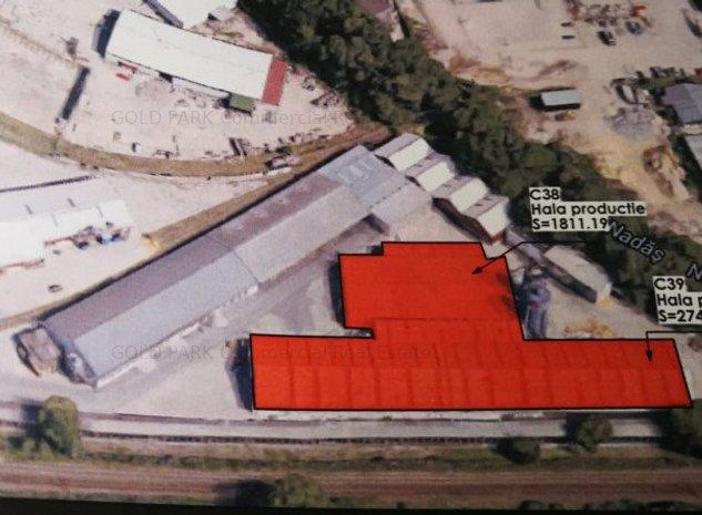 Complex Industrial - 33.000 mp Teren - Toate Utilitatile  - Cluj Napoca - imaginea 1