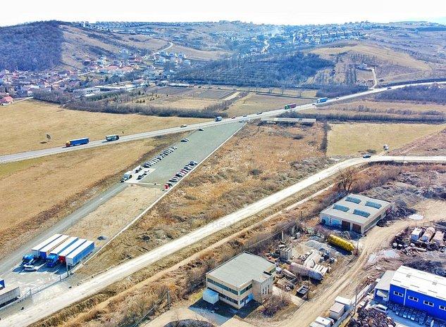 Teren 16.100 mp - pt. Constructii Industriale-Zona Agro TRANSILVANIA - imaginea 1
