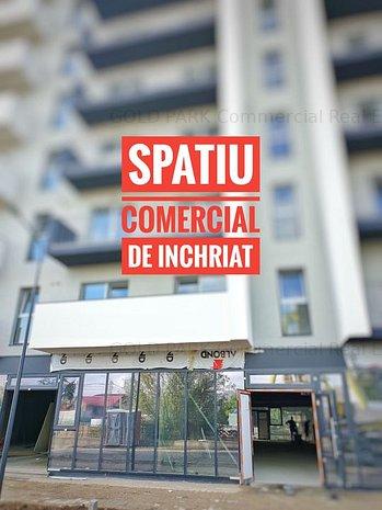 . . : : Spatiu 160 mp - Str. Fabricii - vitrina mare la strada : : . . - imaginea 1