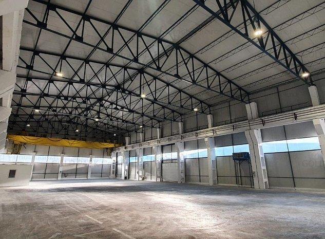 Depozit/Hala-In Park Industrial-Zona Someseni- 314 mp + 60 Birouri - imaginea 1