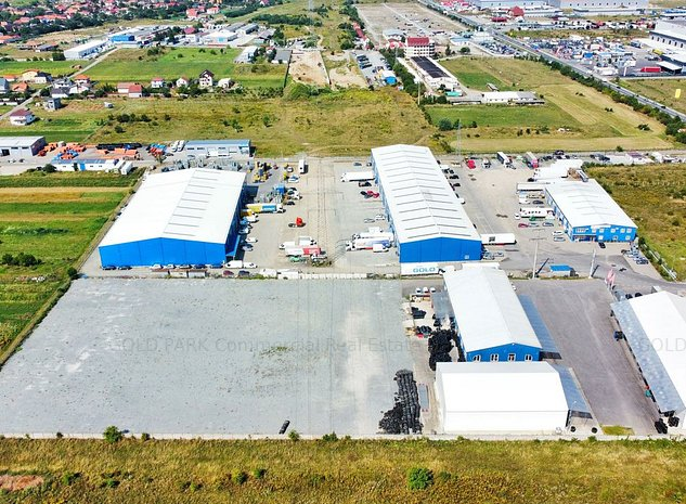 Spatiu Industrial/Hala -Zona Autostrazii A3- 550 mp - imaginea 1