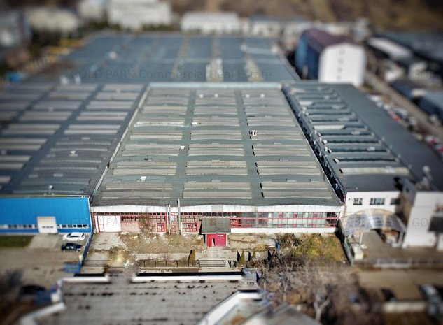 Spatiu Industrial - Zona Iris - 5,200 mp + Teren 610 mp - imaginea 1