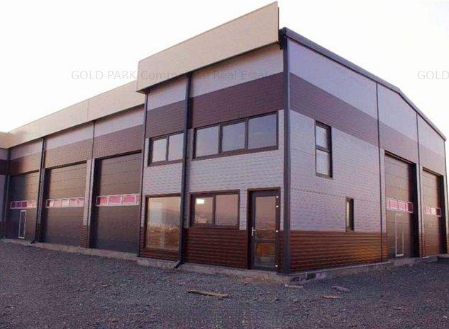 Spatiu Industrial/Hala - Zona Exterior Vest -Pretabil pentru Service - imaginea 1