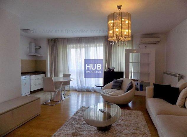 Inchiriere Apartament 2 Camere Baneasa Petrom City - imaginea 1