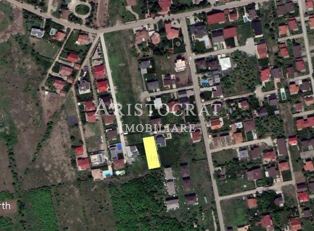 Vanzare teren Corbeanca - zona foarte buna - imaginea 1