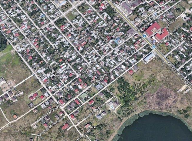 Teren construibil vila / duplex Zona Straulesti - imaginea 1
