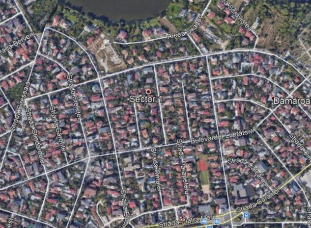 Teren construibil vila /duplex zona Damaroaia - imaginea 1