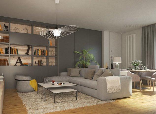 Apartament 2 camere cu 2 terase langa Parcul Carol! - imaginea 1