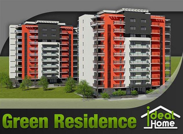 Apartament cu 2 Camere Tip A 2.1 de Vanzare in Ansamblul Green Residence - imaginea 1