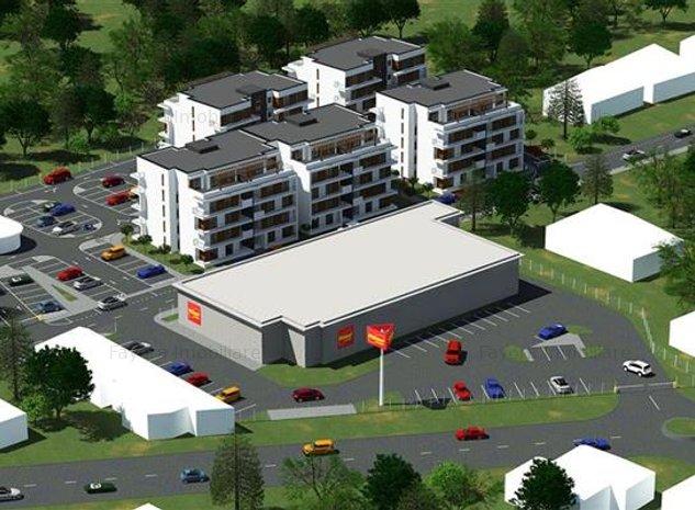 Apartament cu 2 Camere Tip V3 de Vanzare in Ansamblul Casa Galbena - imaginea 1