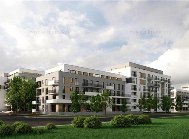 Apartament 2 Camere de Vanzare in Ansamblu Rezidential Nou - imaginea 1