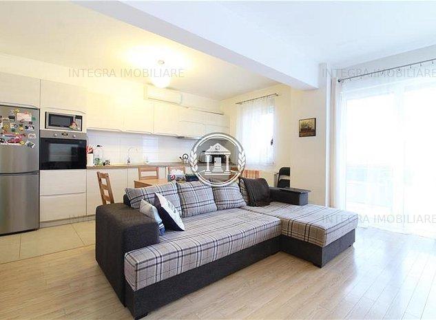 Apartament cu 2 camere, 52mp+12mp terasa, et4/6 !  2 locuri de parcare, Buna Ziu - imaginea 1