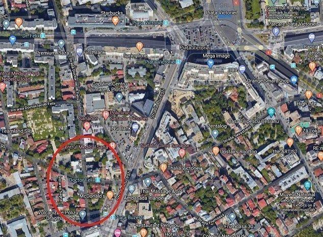 Teren 1.020 mp in zona Piata Victoriei-Buzesti-Dr. Felix - imaginea 1