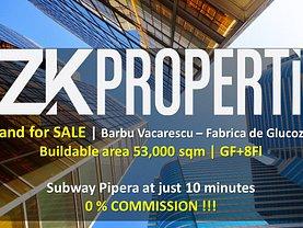 Teren constructii de vânzare, în Bucuresti, zona Barbu Vacarescu