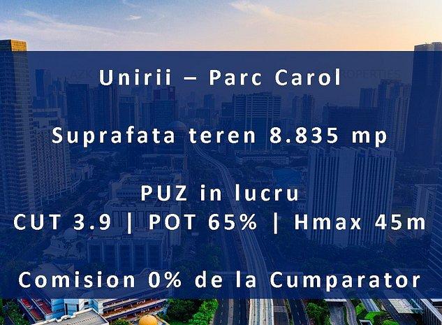 Comision 0% - Teren Parc Carol | CUT 3.9 PUZ - imaginea 1