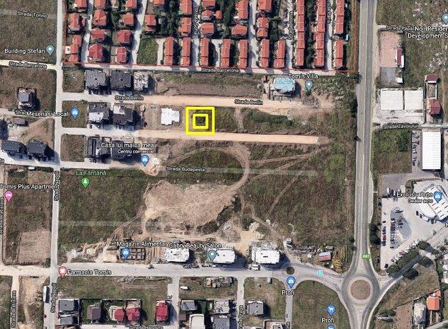 Teren cu deschidere la trei strazi in zona Tomis Plus langa Tomis Villa | P+5 - imaginea 1