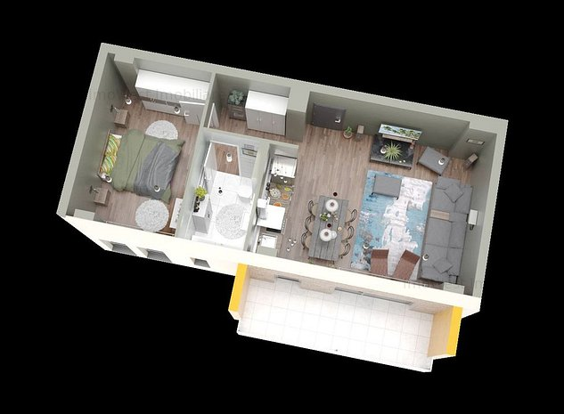 Ansamblu Rezidential cu apartamente generoase, calitate superioara - imaginea 1