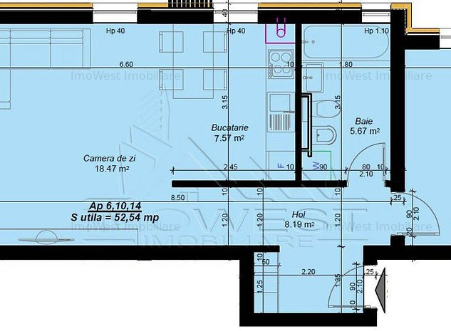 Braytim, Ansamblu rezidential modern, Finisaje de calitate - imaginea 1
