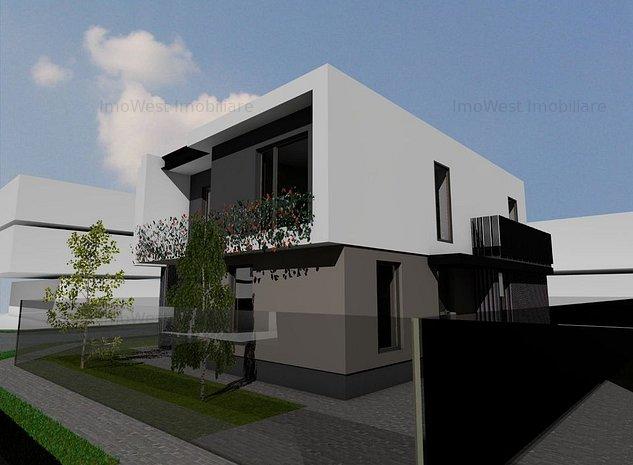 Duplex in zona Buziasului ! Proiect modern ! Comision 0% - imaginea 1