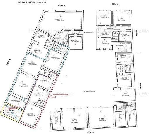 Odobescu-Maternitate,  spatii comerciale/birouri, Comision 0 - imaginea 1