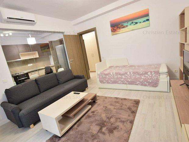 Cozy Studio, Politehnica - 21 Residence, metrou 5 min - imaginea 1