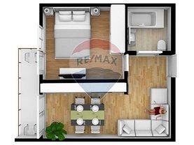 Apartament de vânzare 2 camere, în Sibiu, zona Sud