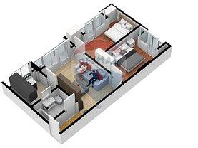 Apartament de vânzare 3 camere în Sibiu, Hipodrom 4