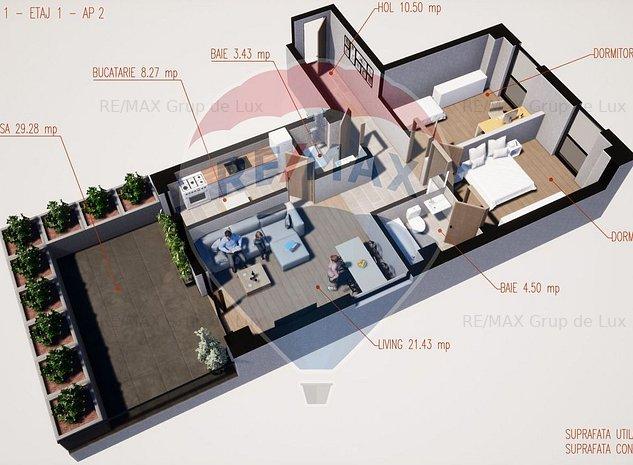 INEDIT | Apartament 3 camere | Comision 0 % - imaginea 1