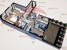 Apartament de vânzare 3 camere, în Ramnicu Valcea, zona Sud-Est