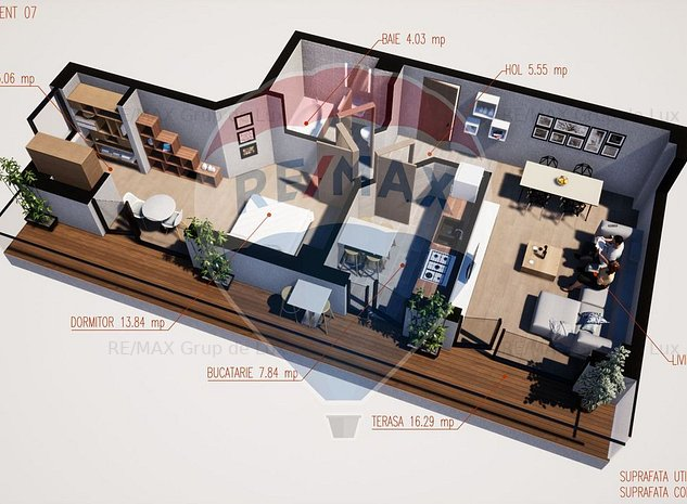 Casa sufletului tau | Apartament 2 camere 69mpu | DEZVOLTATOR - imaginea 1