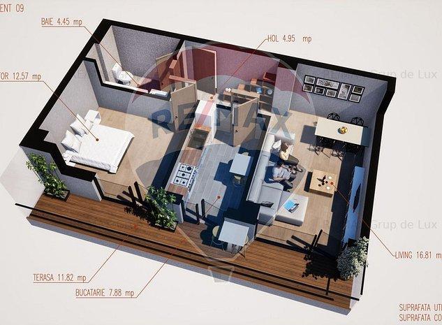 Apartament 2 camere | Comision 0% | Finantare - imaginea 1