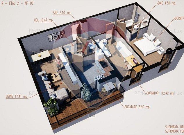 Apartament 3 camere - 67 mpu - Modern - Comision 0% - imaginea 1