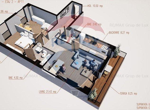 Vanzare apartament 3 camere direct de la dezvoltator , comision 0 % - imaginea 1