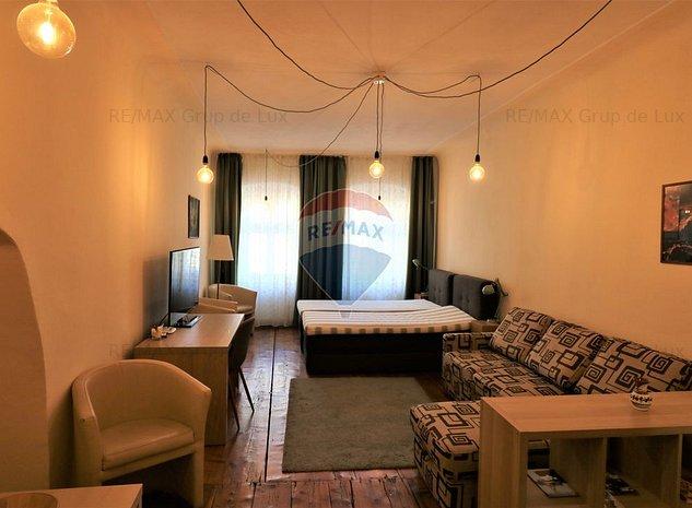 Apartament 1 camera de inchiriat   zona Centrala - imaginea 1